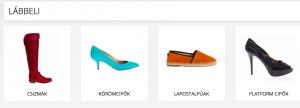 divat cipők