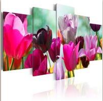 tulipános vászonkép